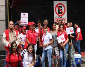 "Marcha 1 de Marzo, No a  ""Ley Producción Nacional"""