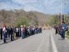 Cementeros realizan Acto Cívico para enaltecer el legado de Chávez