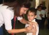 Niñas y niños de la Escuela Mara fueron vacunados contra el AH1N1