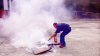 Realizada práctica de manejo de extintores en Catia La Mar