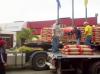 Realizado con éxito operativo de venta directa de cemento en Porcinos del Alba