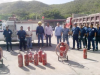 Simulacro contra incendios en Frente de Transporte Pamatacualito