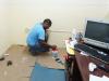 Trabajadores de Venezolana de Cementos en Planta Pertigalete mejoran sus propios espacios