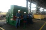 Taller Mesones puso en funcionamiento su Cizalla Guillotina Hidráulica Piesok NTH 3150/10