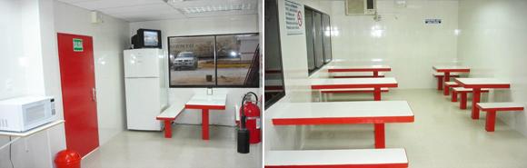 Venezolana de cementos remodel comedor en planta valencia for Comedor en planta